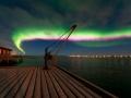 Nordlysnatt på Ekkerøy